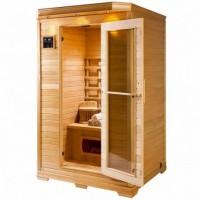 غرف سونا حرارية 2 فرد بأفضل خامات الخشب البيتش باين الامريكي